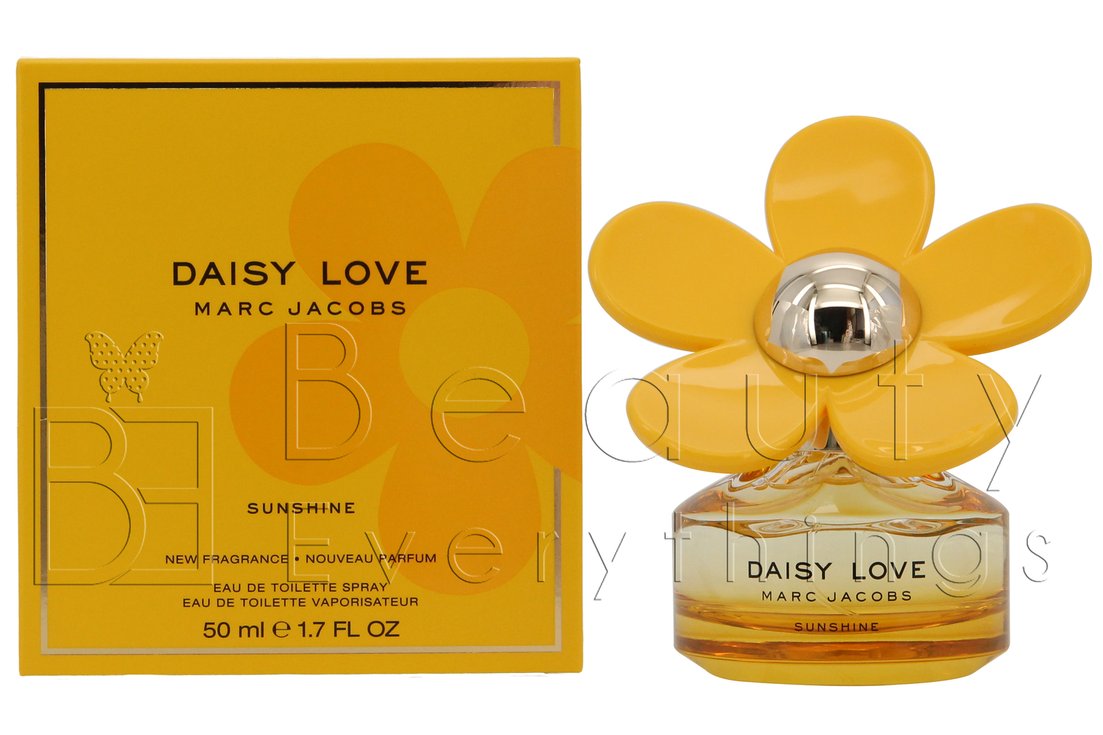 Primary image for Daisy Love Sunshine by Marc Jacobs 1.7oz / 50ml EDT Spray NIB Sealed For Women