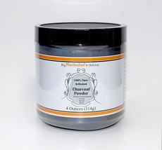 Activated Charcoal Powder 4 oz Pure, Food Grade, Ultra Fine, Hardwood - $12.82
