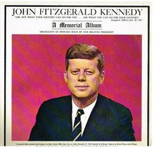 LP Memorial Record Album; John Fitzgerald Kennedy - $0.99