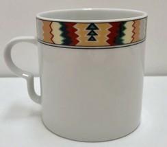 Mikasa Tamarack Fine China L 5807 Coffee Cup Tea Mug Southwestern Pattern - $19.79