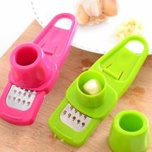 Multi-functional Ginger Garlic Grater Slicer Mini Cutter Cooking Kitchen... - $2.99