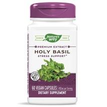 Nature's Way Holy Basil 450 mg per Serving 60 Vegan Capsules - $37.85