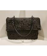 100% Authentic Bottega Veneta Tobu Olimpia Shoulder Bag in Ardoise (Grey)  EUC! - $1,436.47