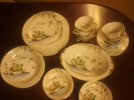 Rare vintage china dish set - $200.00