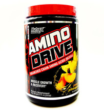 Nutrex Amino Drive - 30 Serving Bcaa Muscle Growth Recovery - Peach Pine... - $21.14