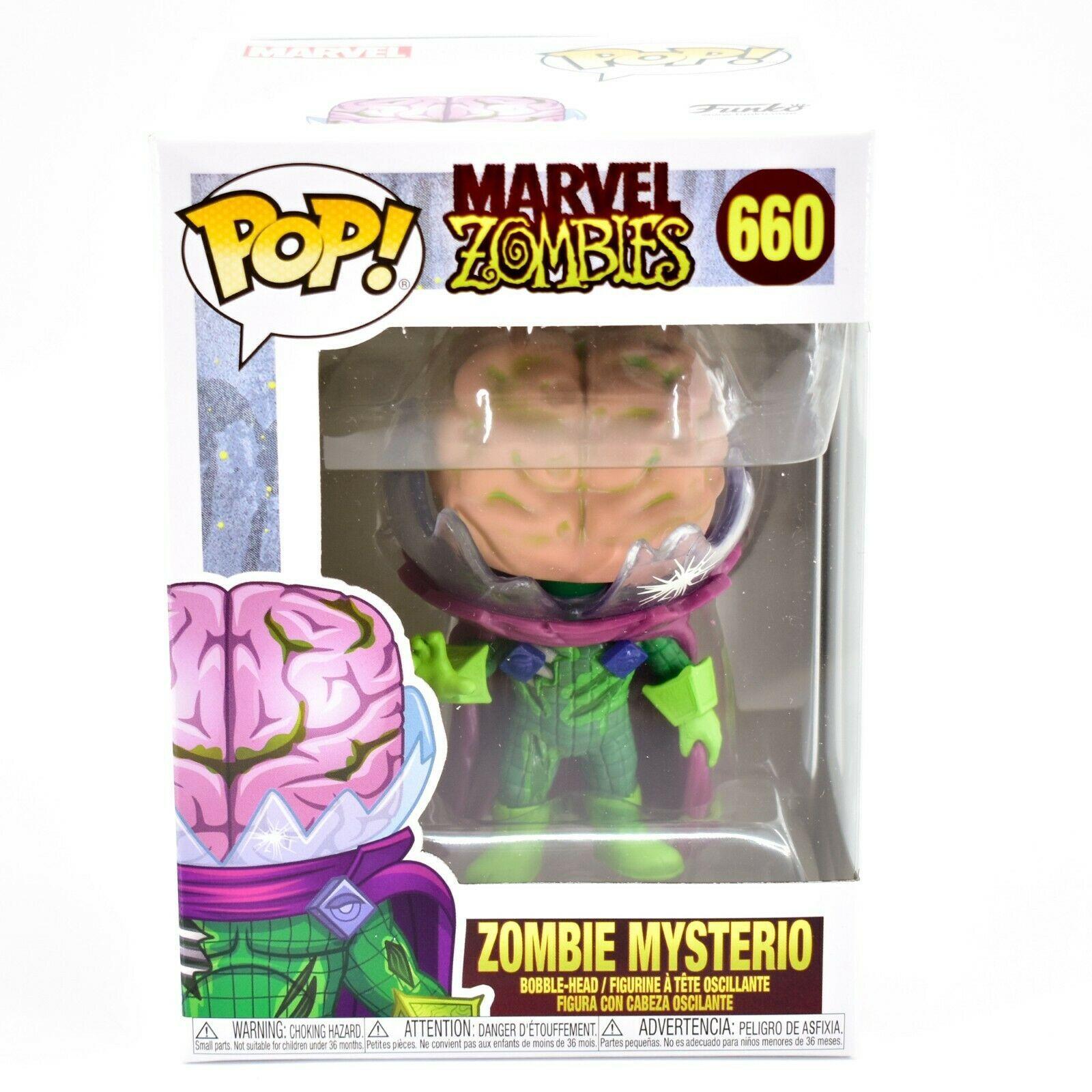 Funko Pop! Marvel Zombies Zombie Mysterio #660 Bobble Head Figure