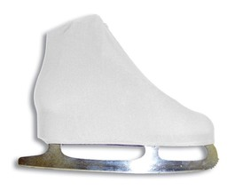 A&R Sports Lycra Ice Skate Boot Covers, White - $26.95