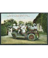 1908 Antique Car POSTCARD Spokane Automobile Show WA Posted George Sonne... - $44.99