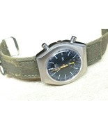 SEIKO VINTAGE 6139-7002 AUTOMATIC CHRONOGRAPH COMPLETE SERVICED sports band - $373.07