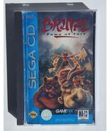Brutal: Paws of Fury - 1993 Sega CD Game - Complete - $17.40
