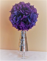 Wedding centerpiece topiary flower decoration Kissing Ball Centerpiece w... - $24.95