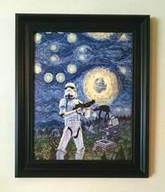 STAR WARS Starry Night - 11 x 14 canvas transfer print - $31.95