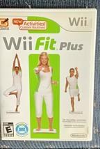 Wii Fit Plus (Wii, 2009) in Case - $9.99