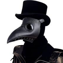 Raxwalker Plague Doctor Bird Mask Long Nose Beak Cosplay Steampunk Hallo... - $28.88