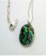Abalone Pendant With Chain - Freebie - $0.00