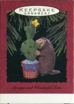 1993 New in Box Hallmark Christmas Keepsake Ornament Strange and Wonderf... - $3.11