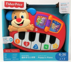Fisher-Price Puppy Musical Piano Numbers and Colours Laugh & Learn Toy - $21.12