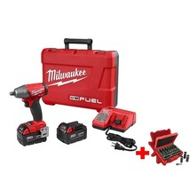 Brushless Impact Wrench 1/2 Inch Cordless 18V Friction Ring w/9 Piece So... - $544.49