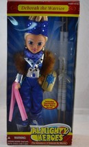 """2006 Almighty Heroes Deborah the Warrior 14"""" Doll Parchment Bible Story ... - $34.99"""