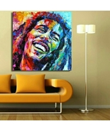 Bob Marley Wall Art On Canvas  - $17.71+
