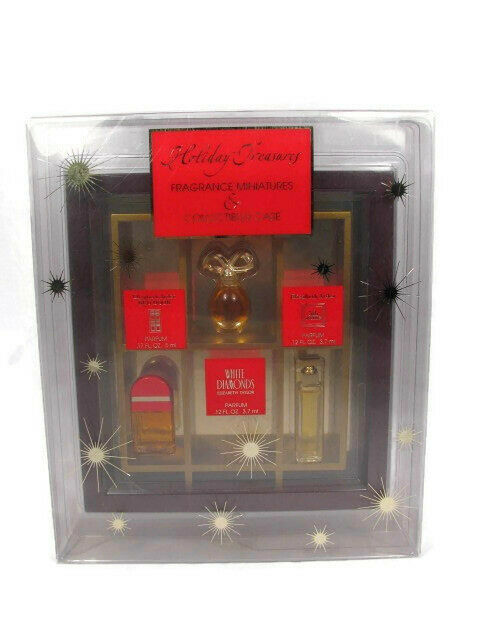 Primary image for Elizabeth Arden/Taylor Holiday Treasures Fragrance Miniatures Collectibles Case