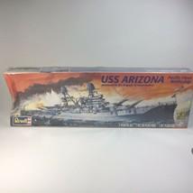 Revell Battleship USS Arizona Memorial to Pearl Harbor Model 1:426 Scale in Box - $14.80