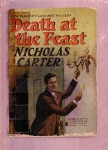 NEW MAGNET LIBRARY-#1224-DEATH AT THE FEAST-NICK CARTER FR - $31.04