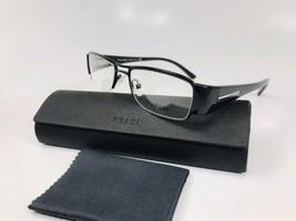 New PRADA VPR 52I 1BO-1O1 Black Eyeglasses  51mm with Case - $84.10