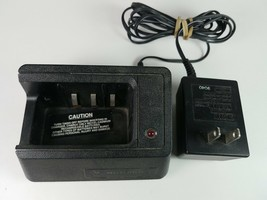 Motorola Battery Rapid Desk Charger NTN5540B With 2505225Q01 Adapter 20V... - $17.27