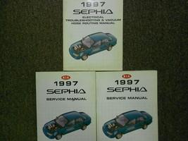 1997 Kia Sephia Service Repair Shop Manual Set Factory OEM 97 - $24.75