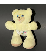 "Fisher Price Baby Julie Mini Teddy Bear Plush 5.5"" Yellow - $14.90"
