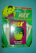 1979 The Incredible Hulk Playing Cards by Nasta   Mint/Unused   Free Shi... - $25.73