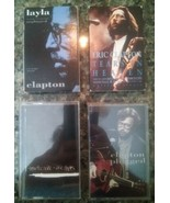 Eric Clapton Lot of 4 Cassettes Unplugged layla Tears in Heaven From the... - $12.86