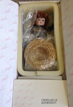"Marie Osmond 6"" Doll Petite Amour Deanna Fishing W/Dog & Wagon 913/3000 EUC - $35.00"