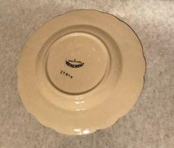 """4 Vintage Franciscan Desert Rose 7 5/8"""" Salad Plate Arch Mark California image 9"""