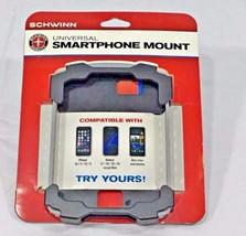 Schwinn Universal Bicycle Smartphone Mount IPhone Samsung  Black Gray - $16.73