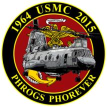USMC CH-46 Commemorative Sticker - $9.89