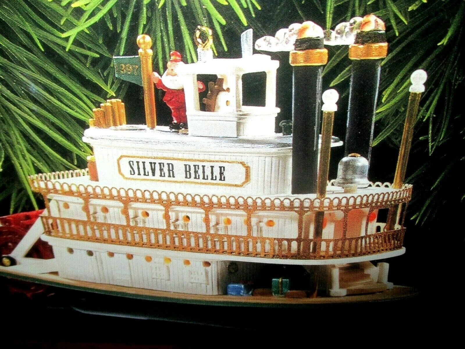 Primary image for Hallmark Magic Santa's Showboat Special Ed. Light/Motion/Music 1997 Jingle Bells