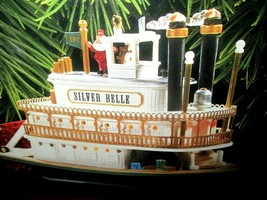 Hallmark Magic Santa's Showboat Special Ed. Light/Motion/Music 1997 Jing... - $19.75