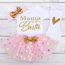 "Baby Toddler Newborn Baby Girl Clothes Summer Mother""s day Letter Printe... - $12.39"