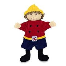 Sterntaler Hand Puppet Fireman, 30 x 27 x 10 cm, Red/Blue
