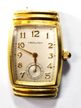 Hamilton 6248 Quartz Registered Edition 980.163 Wristwatch 22mm Not Running - $98.99
