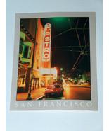 Reynard of San Francisco Castro Movie Theatre's Marquee Postcard Marek M... - $9.39