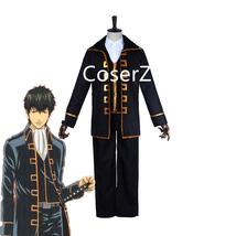 Anime Gintama Cosplay Costume, Hijikata Toushirou Okita Sougo Costume - $89.00