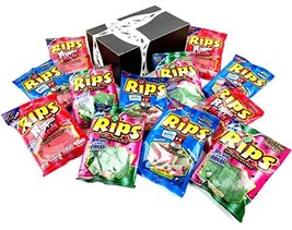 RIPS Licorice 3-Flavor Variety: Four 4 oz Bags Each of Strawberry/Green ... - $46.90 CAD