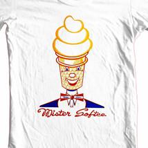 Mister Softee T-shirt retro ice cream truck 70's 80's old style 100% cotton tee image 1