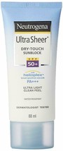 Neutrogena Ultra Sheer Dry Touch SPF 50  Sunblock Lotion  88ml - $20.12