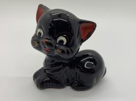 Vintage Redware Cat Figurine - $12.99