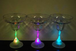 4 Pack 8 Mode Color Changing LED Margarita Glasses - $18.95
