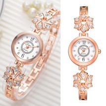 Lvpai® Watch Women Fashion Luxury Bracelet Silver Rose Gold Rhinestone C... - $8.20